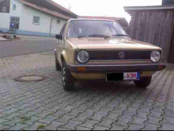 1 VW Golf im Absoluten Originalzustand!