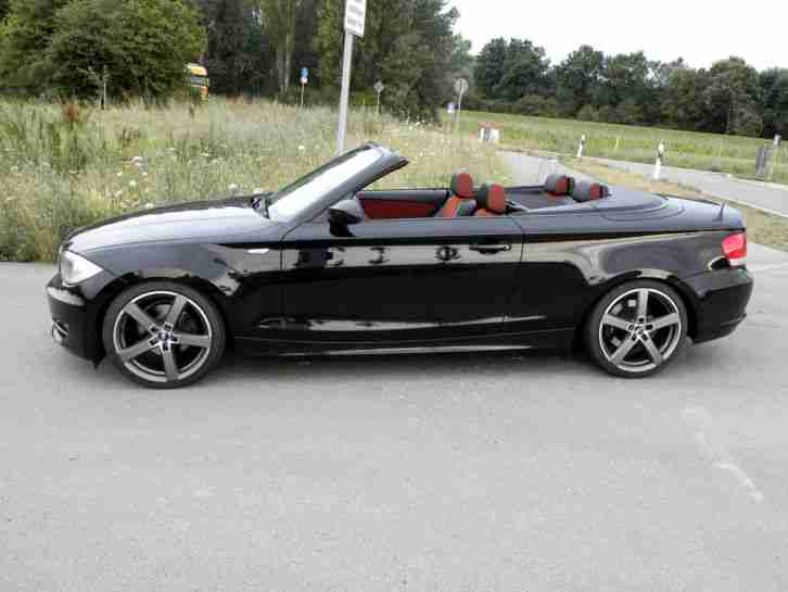 118i bmw cabrio e 88 1er bj 2008 2 hand 18 zoll bestes angebot von bmw autos. Black Bedroom Furniture Sets. Home Design Ideas