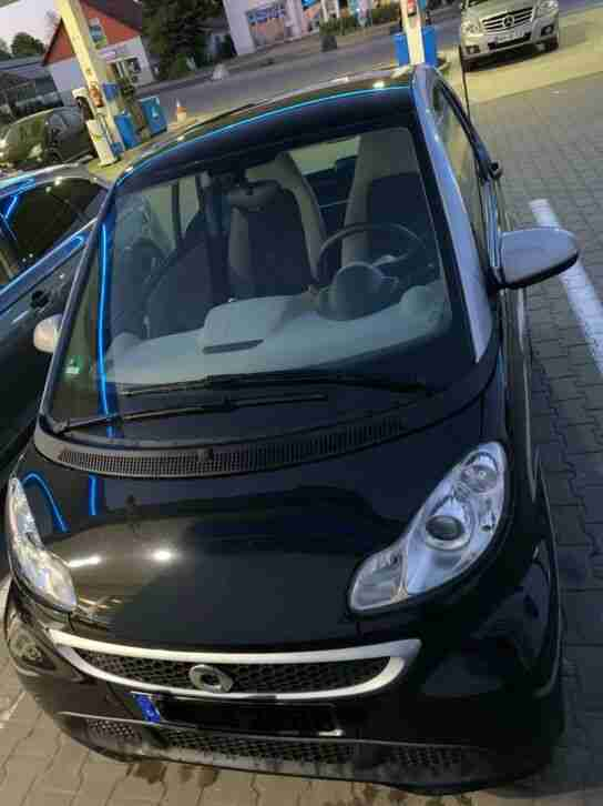Smart 451 Passion Schwarz bj. 2012 Fortwo 1, 0 MHD