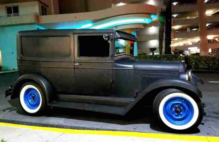 1928 Willys Whippet Sedan Delivery Hot Rod