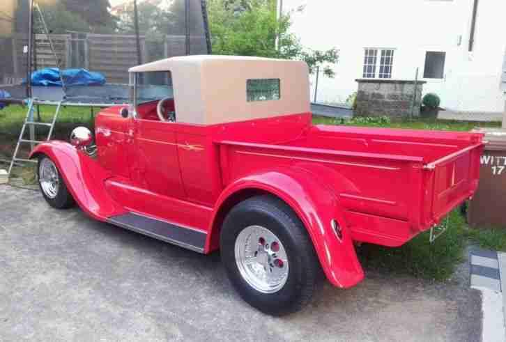 1929 ford pick up roadster hot rod rat rod die besten. Black Bedroom Furniture Sets. Home Design Ideas