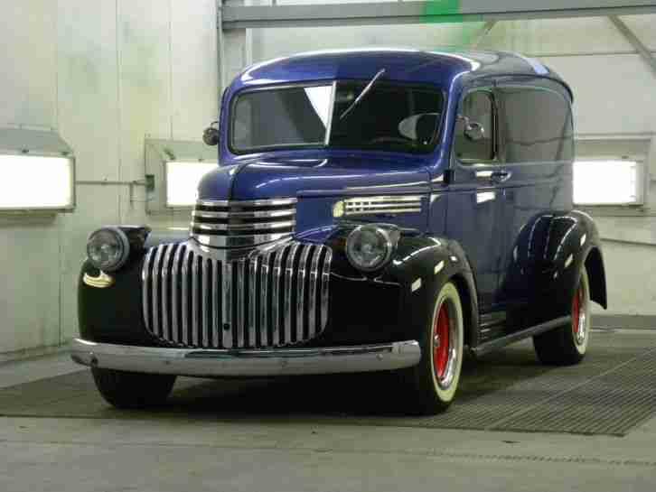1942 panel truck pickup promotion oldtimer die besten angebote amerikanischen autos. Black Bedroom Furniture Sets. Home Design Ideas