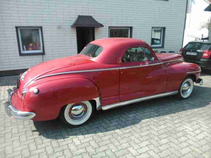 1946 Dodge De Luxe Business Coupe D24