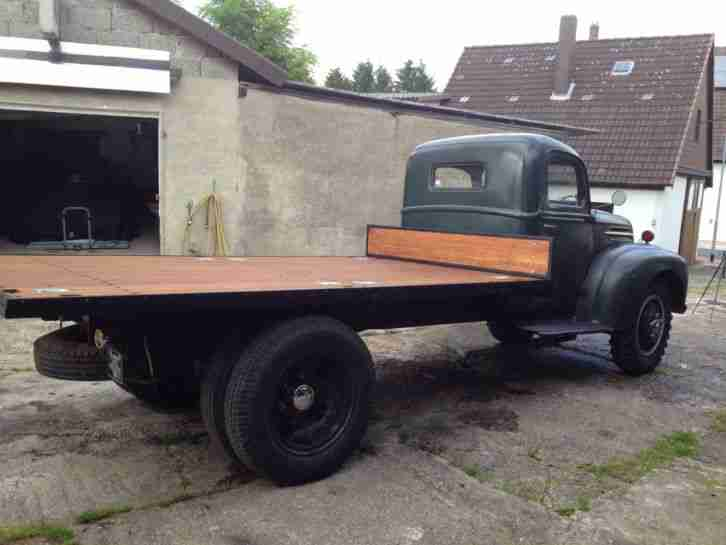 1947 Ford 1.5 Ton Truck Flathead Hot Rod Rockabilly Oldtimer LKW