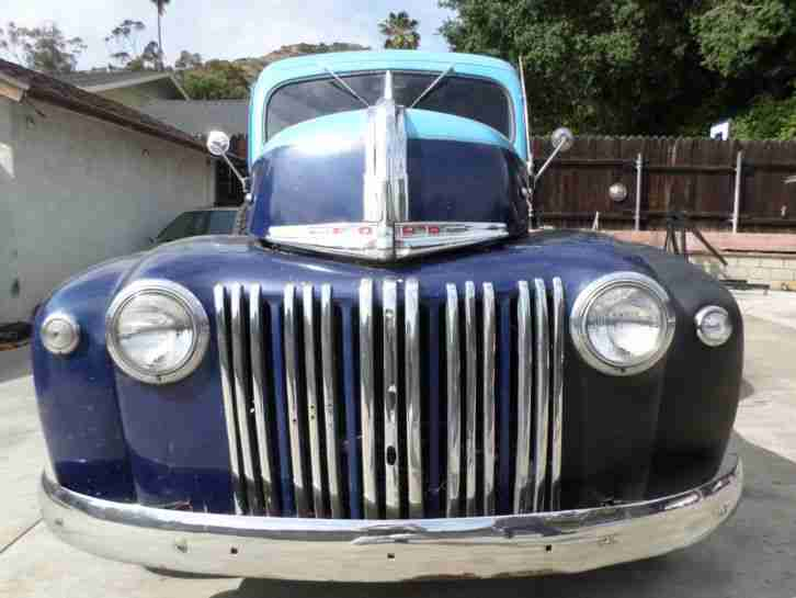 1947 Ford Panel Pick Up HOT ROD, V8 - Automa. - Scheibenbrem. California Wagen.