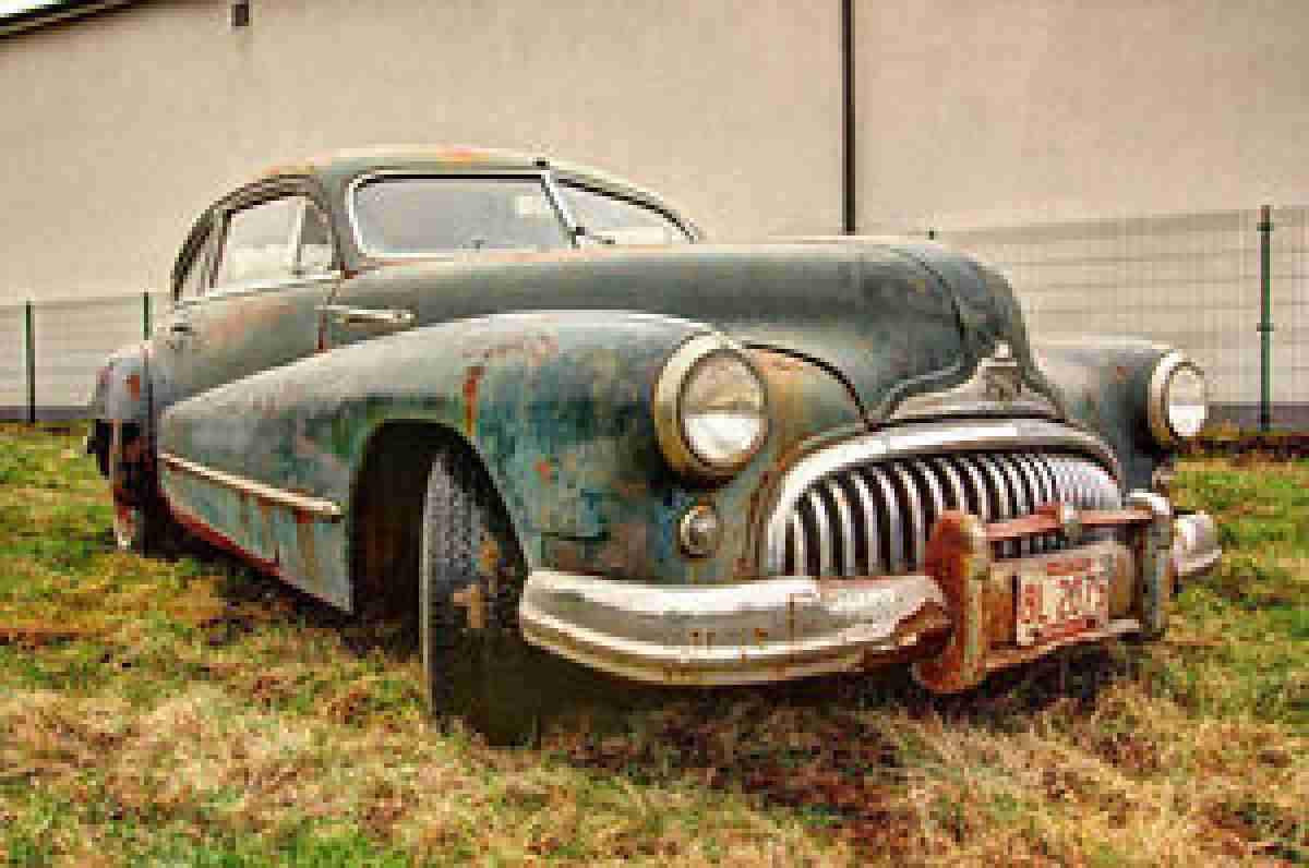 1948 Buick Super Eight Series 50 Sedanette Rar Topseller