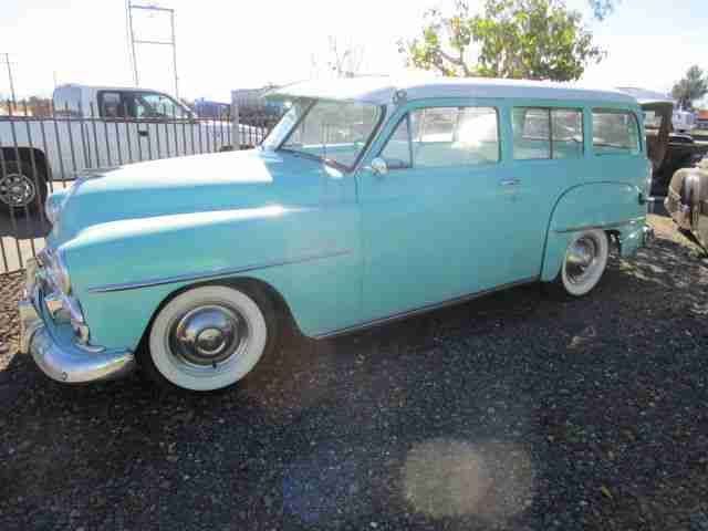 1951 Plymouth Wagon selten incl.shipping to Rotterdam
