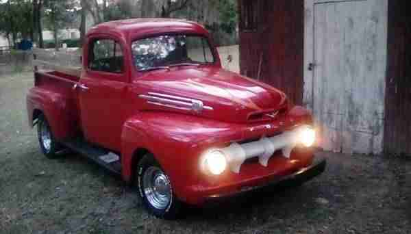1952 Ford F 1 Pickup Truck incl.shipping to Rotterdam