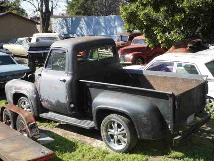1954 ford f100 pick up v8 california blech die besten. Black Bedroom Furniture Sets. Home Design Ideas