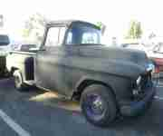 1955 Chevrolet Pick Up, V8 Automatic, California Wagen. Bestes Blech.