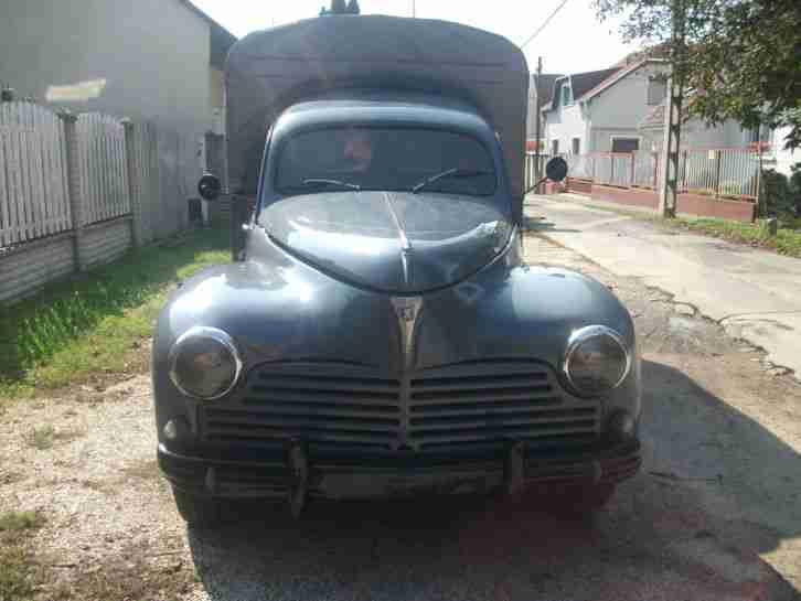 1955 peugeot 203 c 8 pick up topseller oldtimer car group. Black Bedroom Furniture Sets. Home Design Ideas