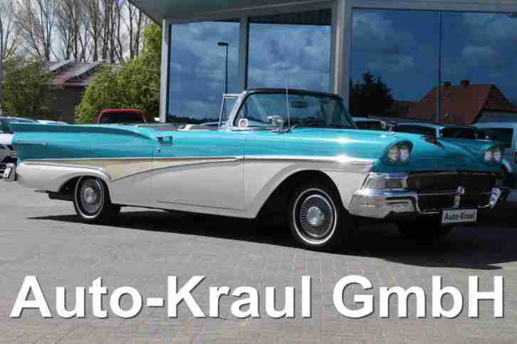 1958 Ford Fairlane 500 Skyliner Retracktable 5.8L V8 352cu