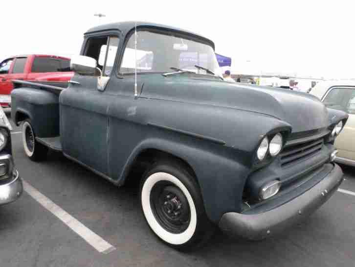 1959 chevrolet step side pick up california die. Black Bedroom Furniture Sets. Home Design Ideas