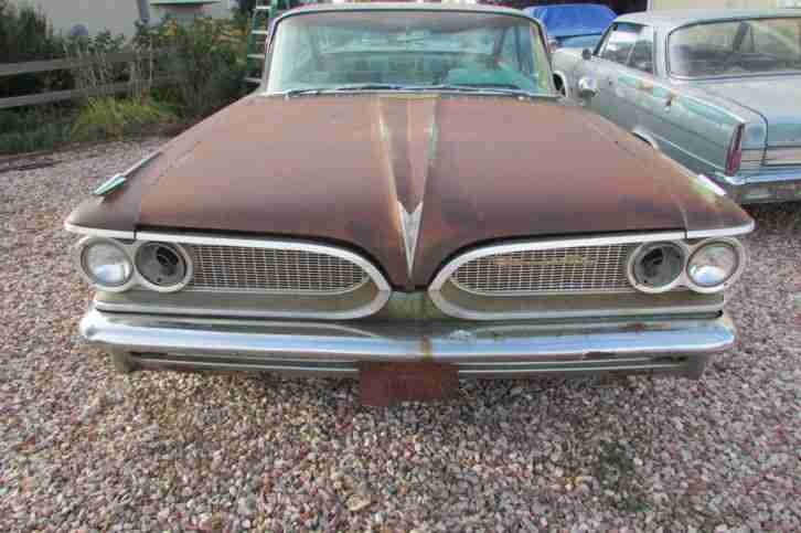 1959 Pontiac Bonneville 2 DR HT Bubble Top V8 389 Barn Find