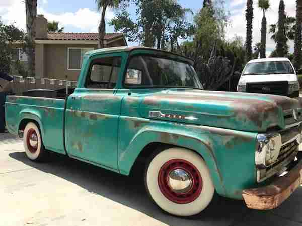 1960 Ford F100 incl.shipping to Rotterdam