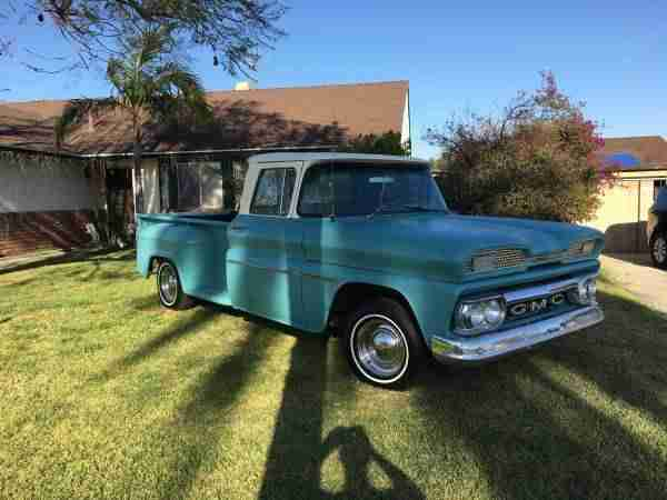 1960 GMC Pickup Truck incl.shipping to Rotterdam