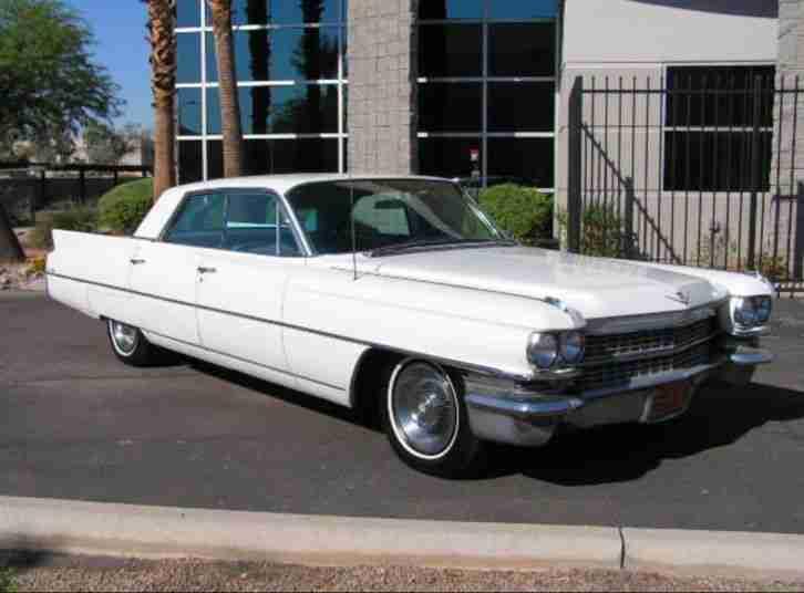 1963 Cadillac Deville 4 Door Sedan Oldtimer - Topseller ...