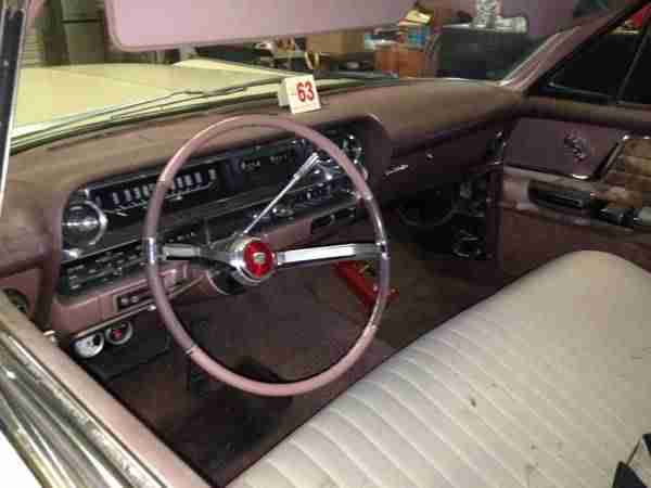 1963 Cadillac Sedan Deville - - incl.shipping to Rotterdam