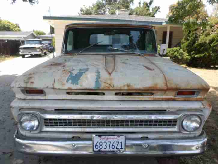 1964 Chevrolet, V8, Pick Up, Original California Patina, Nur 6% Zoll.