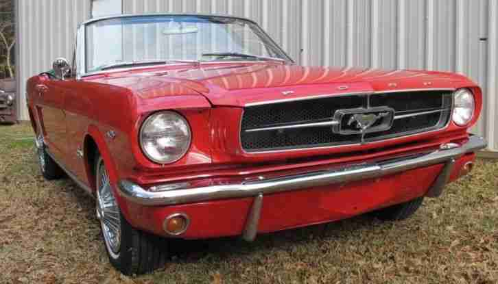 1965 ford mustang convertible sch nes cabrio die besten. Black Bedroom Furniture Sets. Home Design Ideas