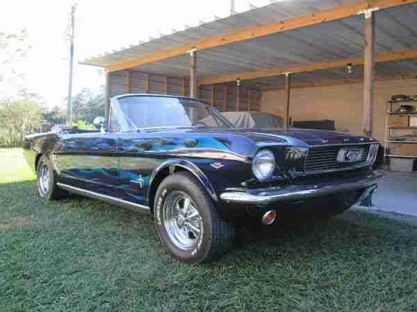 1966 ford mustang cabrio restauriert die besten angebote. Black Bedroom Furniture Sets. Home Design Ideas