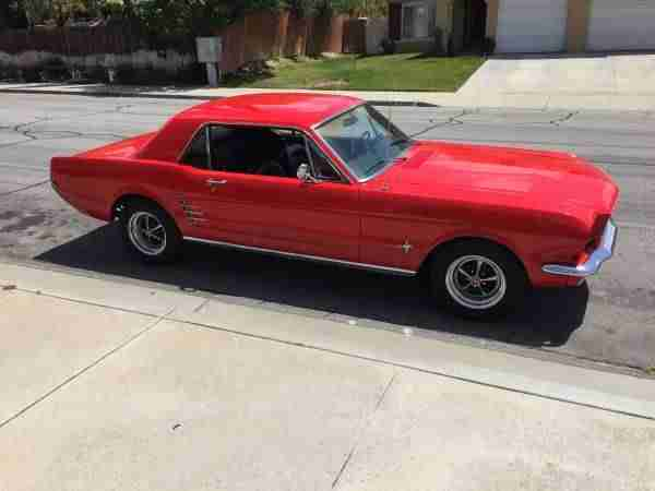 1966 Ford Mustang incl.shipping to Rotterdam