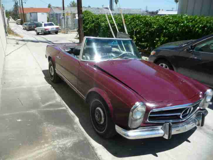 1966 Mercedes Benz 230 SL Roadster