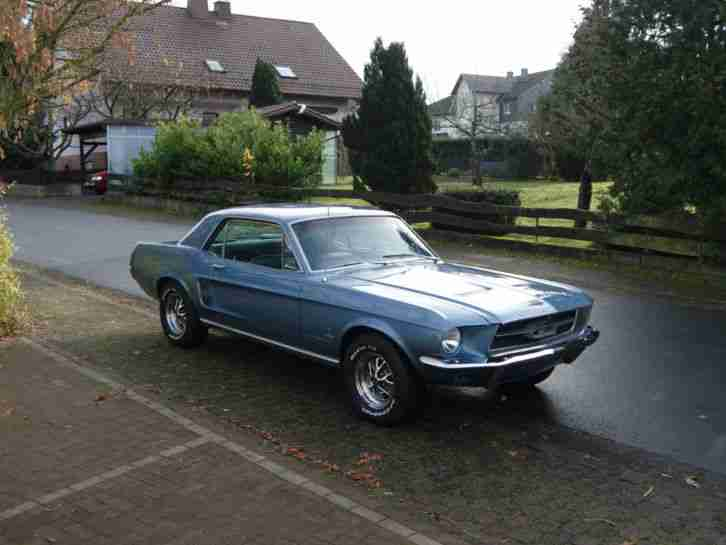 1967 Ford Mustang Original 80300mls aus 1.Hd mit
