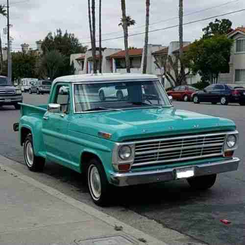 1967 Ford Stepside restauriert incl.shipping to