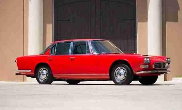 1967 maserati quattroporte series i topseller oldtimer car group. Black Bedroom Furniture Sets. Home Design Ideas