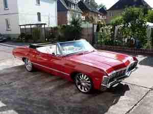 1967 er chevrolet impala convertible cabrio die besten. Black Bedroom Furniture Sets. Home Design Ideas