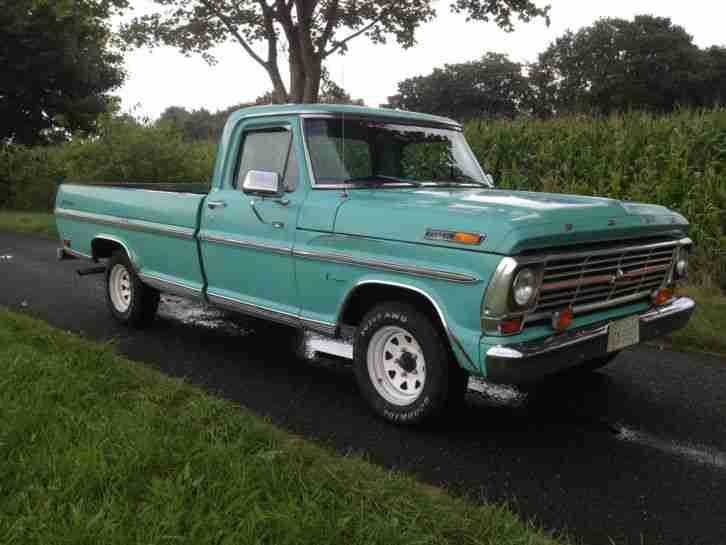 1969 ford f100 ranger pick up truck v8 a t mit die besten angebote amerikanischen autos. Black Bedroom Furniture Sets. Home Design Ideas