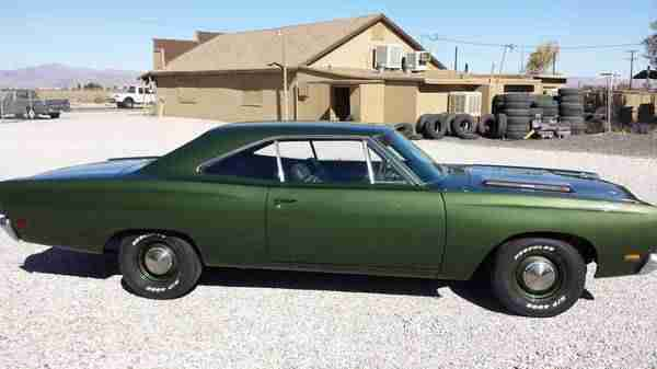 1969 Plymouth Road Runner restored 4 speed incl.shipping to Rotterdam