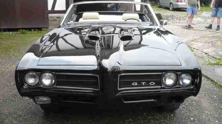 1969 pontiac gto convertible deutsche zulassung die. Black Bedroom Furniture Sets. Home Design Ideas