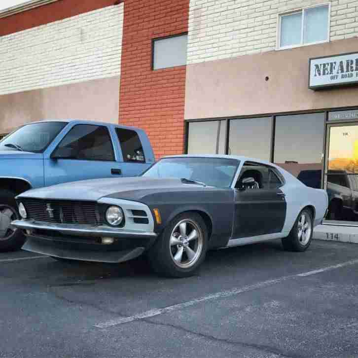 1970 Ford Mustang Fastback running Project