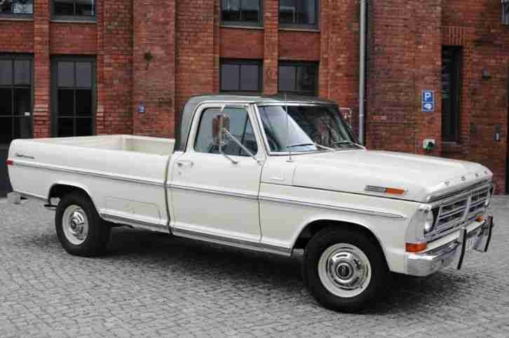 1971 ford f250 pickup truck h zulassung t v die besten angebote amerikanischen autos. Black Bedroom Furniture Sets. Home Design Ideas