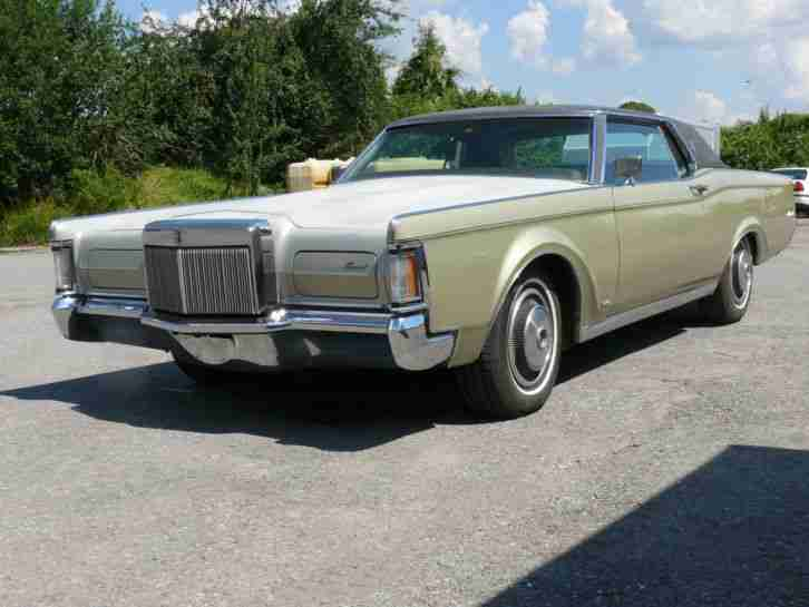 1971 Lincoln Continental Mark III wenig Miles