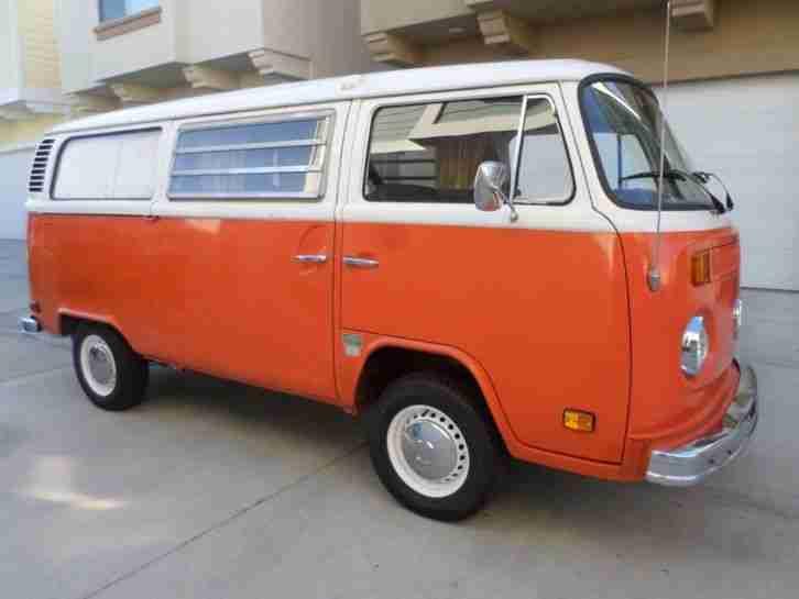 1973 t2 vw bus westfalia bestes california topseller oldtimer car group. Black Bedroom Furniture Sets. Home Design Ideas