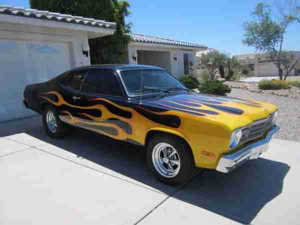 1974 Plymouth Duster incl.shipping to Rotterdam