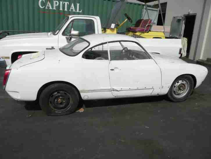 1974 VW Karmann Ghia Coupe , rolling Chassis