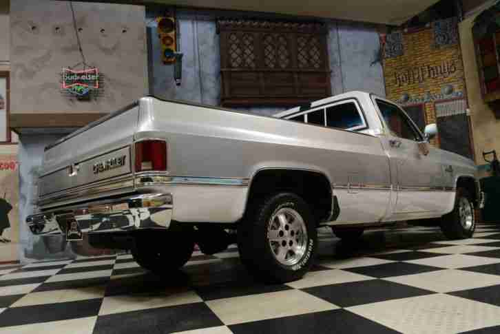 1982 chevrolet silverado c10 pickup truck v8 die besten. Black Bedroom Furniture Sets. Home Design Ideas