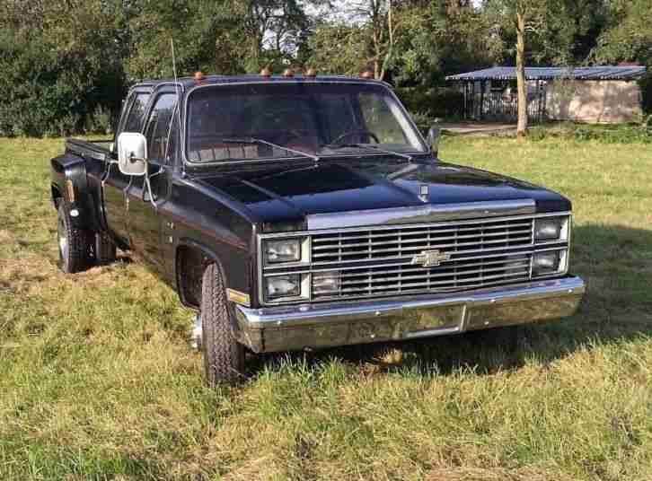 1983 Chevy Chevrolet C30 CrewCab Dually 6.2L 379cui DIESEL H Zulassung