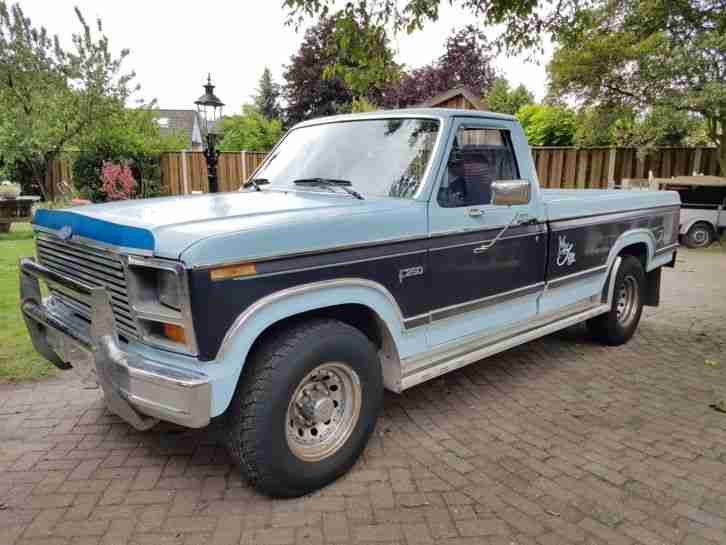 1984 ford f 250 mit331ci stroker v8 die besten angebote amerikanischen autos. Black Bedroom Furniture Sets. Home Design Ideas