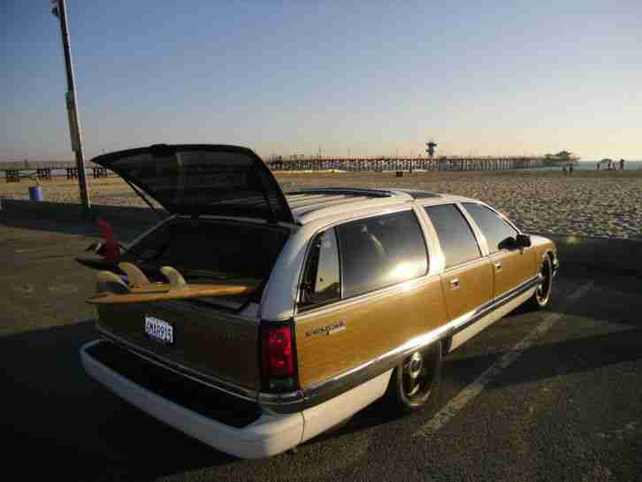 1991 Buick Roadmaster Woody ! Original ! Cali