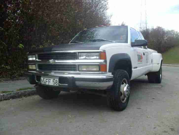 1996 Chevrolet Silverado K3500 Pick Up Dually Longbed Extended Cab 6,5l Diesel