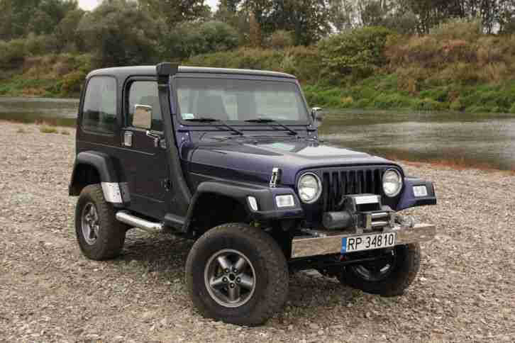 1997 Jeep Wrangler TJ 4.0 5spd Manual