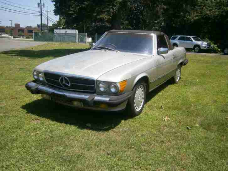 560SL AUS ARIZONA 1987 SMOKE SILVER METALLIC