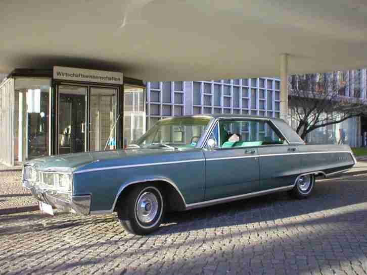 '67 Dodge Monaco 4door Hardtop 383ci V8 (6, 3l) Läuft