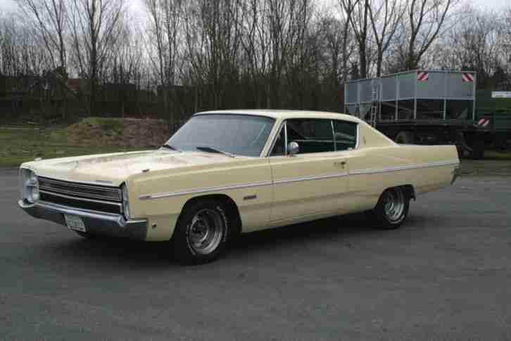 68' Plymouth Fury III, US Car, 383, Mopar, TÜV H Neu