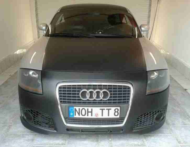 audi tt 1 8 top in r8 look 180 ps t v tolle. Black Bedroom Furniture Sets. Home Design Ideas